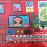 Jan's Resignation Day Painting Zion Levy Stewart 2016