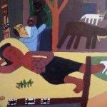 Nativity Painting Zion Levy Stewart 2016
