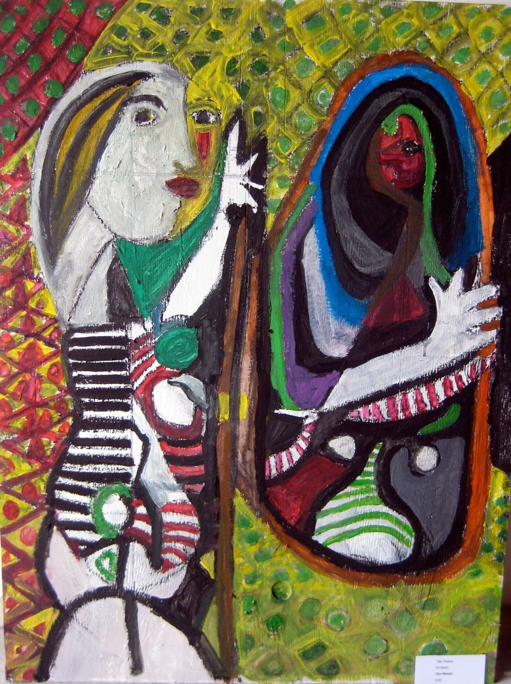After Picasso painting by artist Zion Levy Stewart