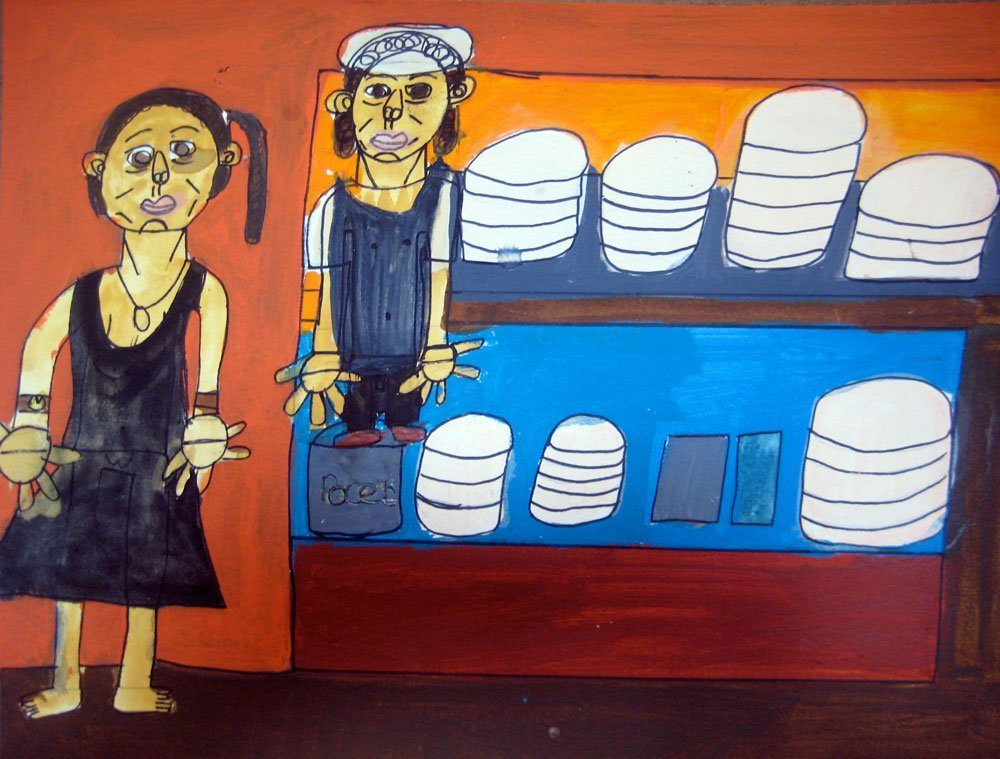 Bakery Zion Levy Stewart Painting
