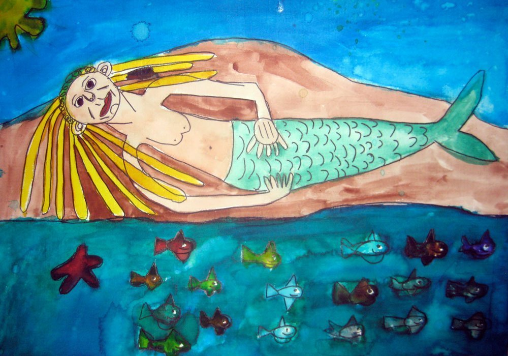 mermaid zion levy stewart art