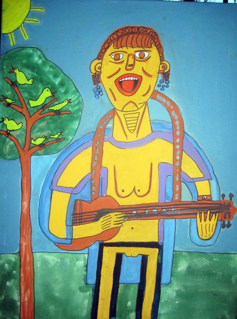 my singing teacher Zion Levy Stewart Art