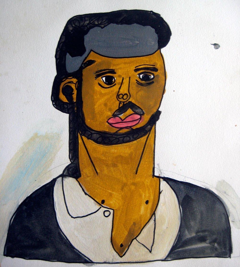 portrait zion levy stewart painting