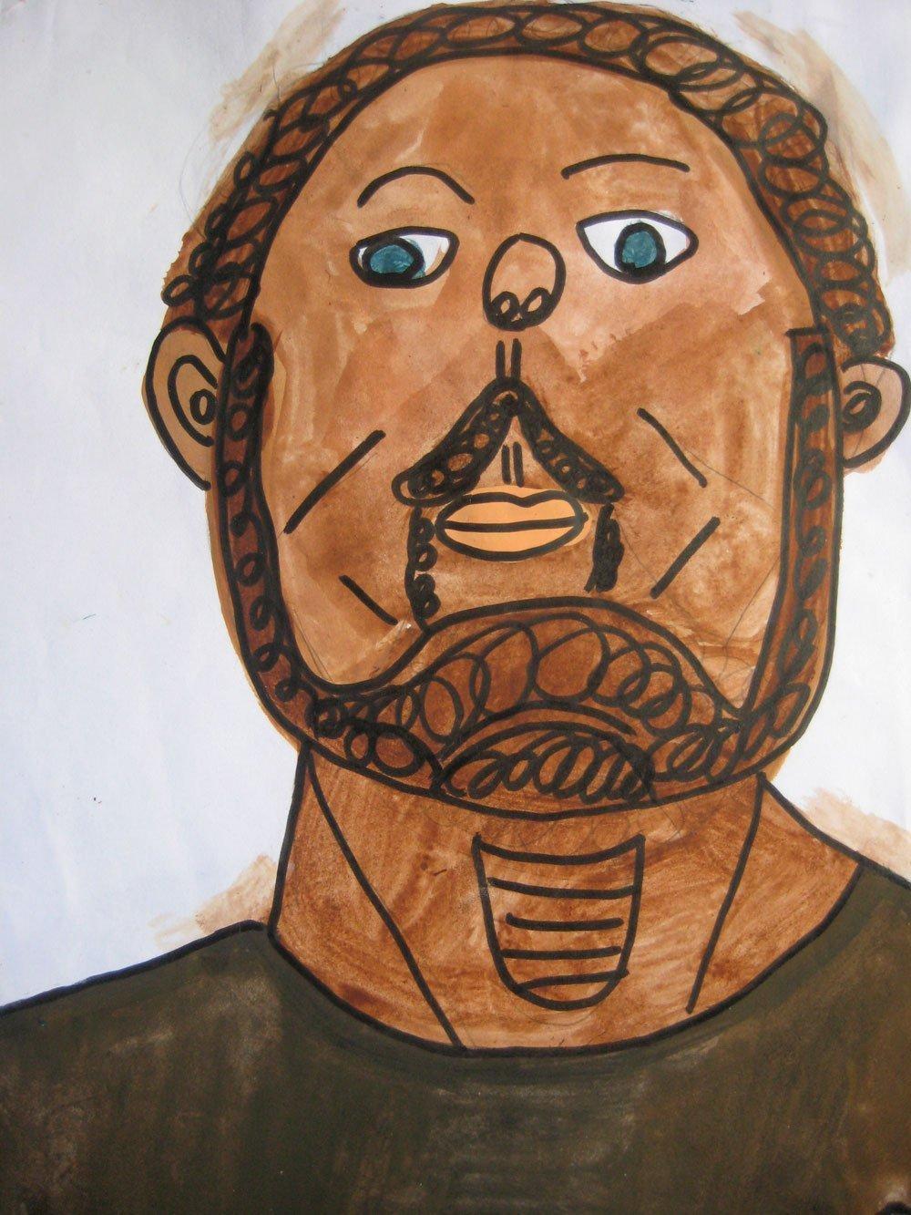 zion levy self portrait