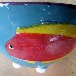 Fish Bowl Zion Levy Stewart Ceramic Art