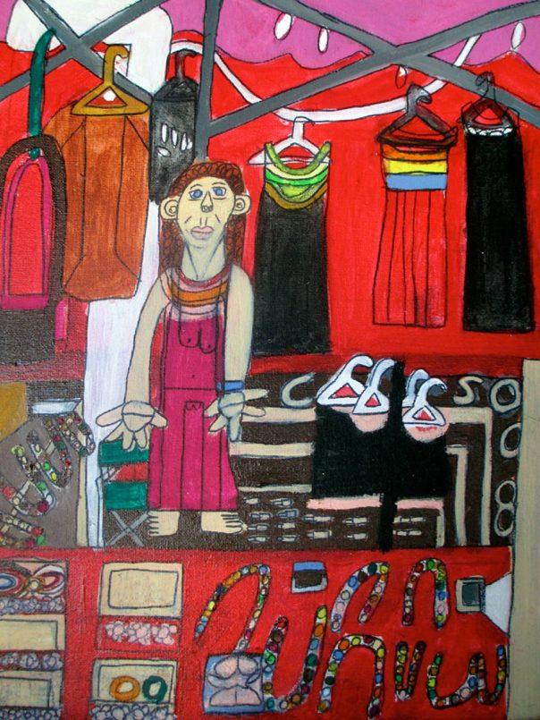 Seeta Market Stall Zion Levy Stewart Art