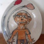 Balloon Bowl a Ceramic piece by Zion Levy Stewart an artist from Mullumbimby Australia