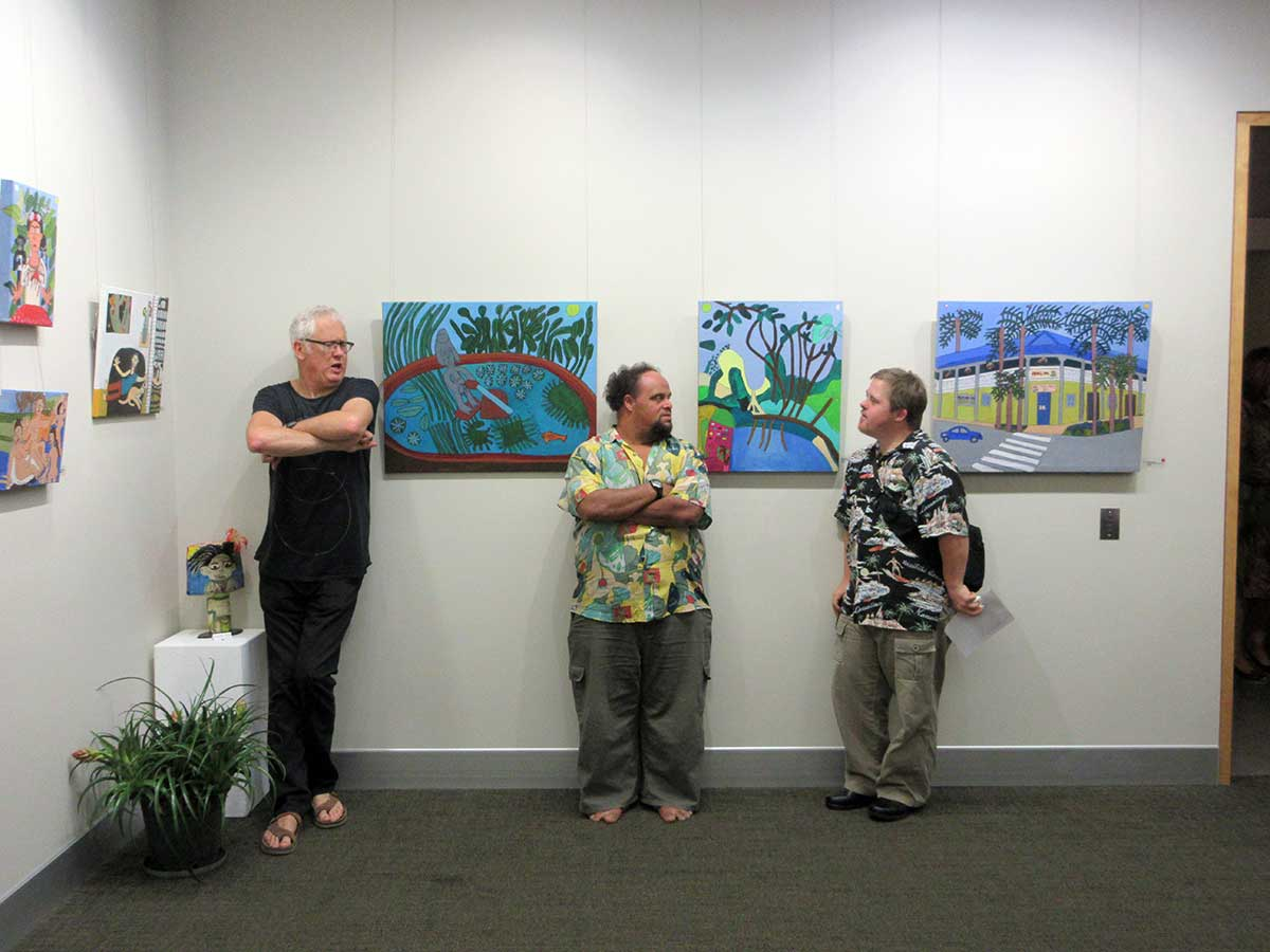 Zion Levy Stewart and friends Lone goat gallery exhibition byron bay