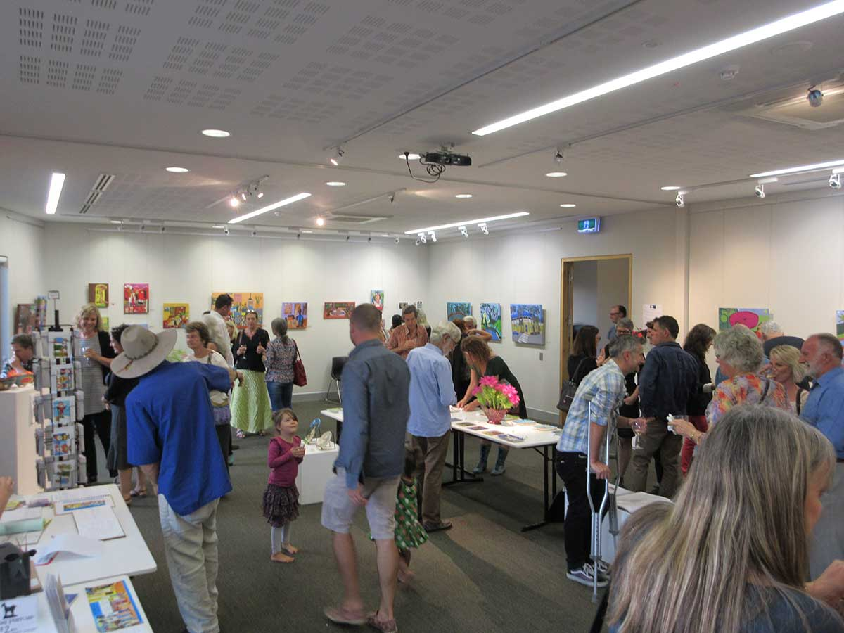 Zion Art Ceramics and Painting Exhibition Lone Goat Gallery Byron Bay