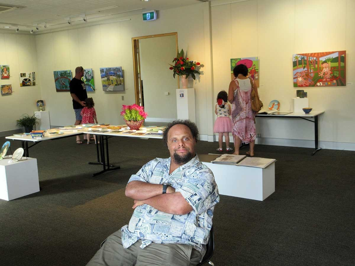 Zion Levy Stewart Zion Art Exhibition Byron Bay end 2015
