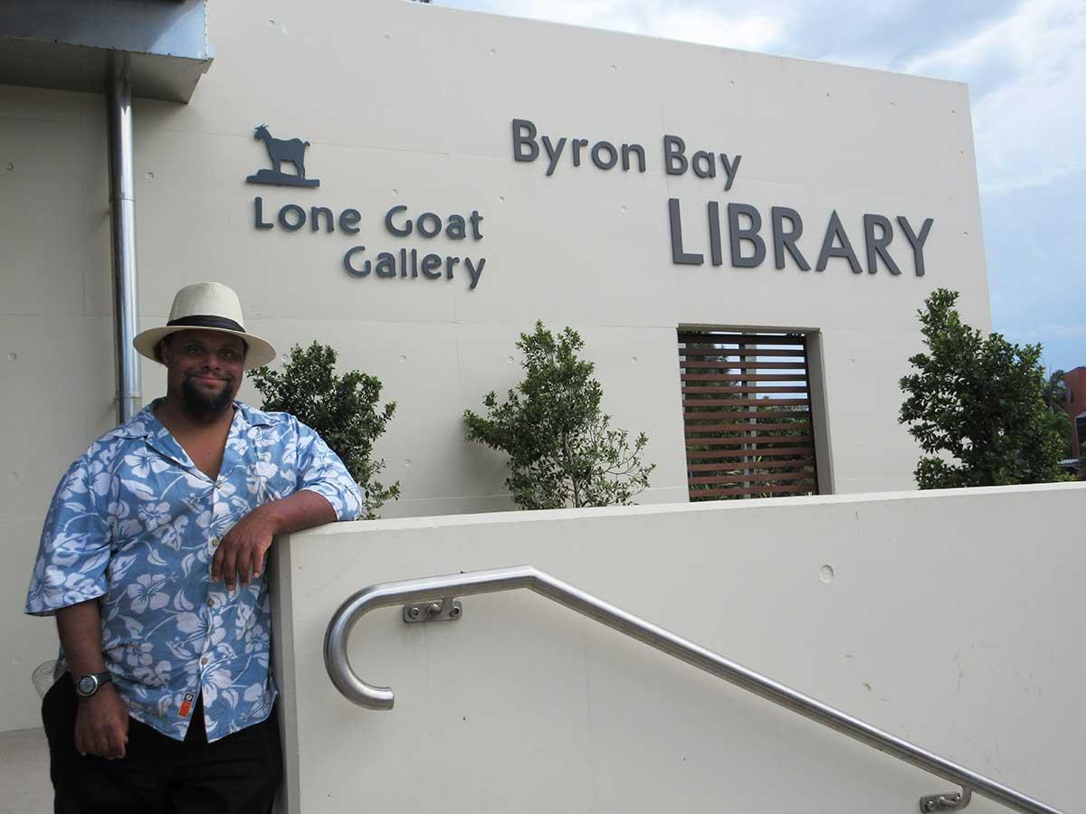 Lone Goat Gallery Byron Bay Zion Levy Stewart Art Exhibition