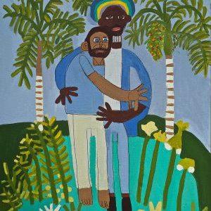 Blue Hug Zion Levy Stewart Paradise Studios Mullumbimby