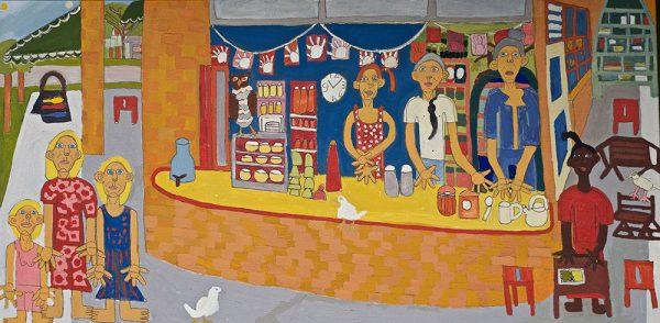 Brunswick Health Food Shop Zion levy Stewart Artist Mullumbimby