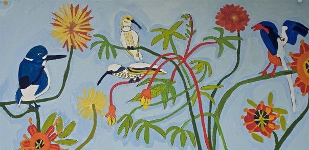 Flowers and Birds Greeting Cards Zion Levy Stewart Artist Mullumbimby