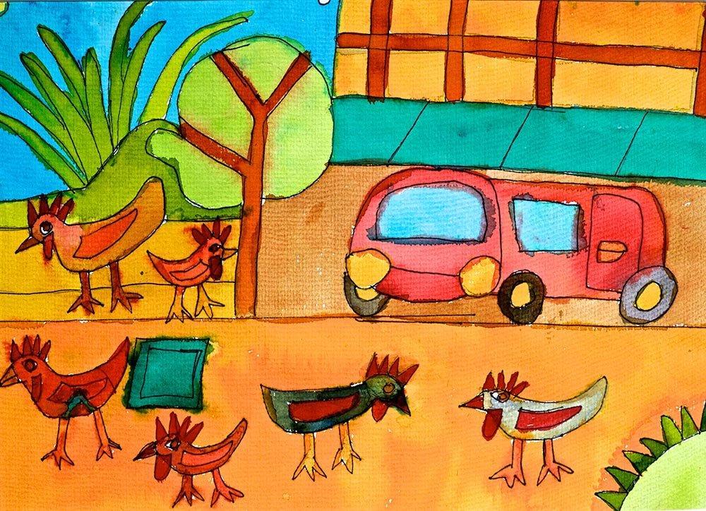 San Miguel Chickens Zion Levy Stewart