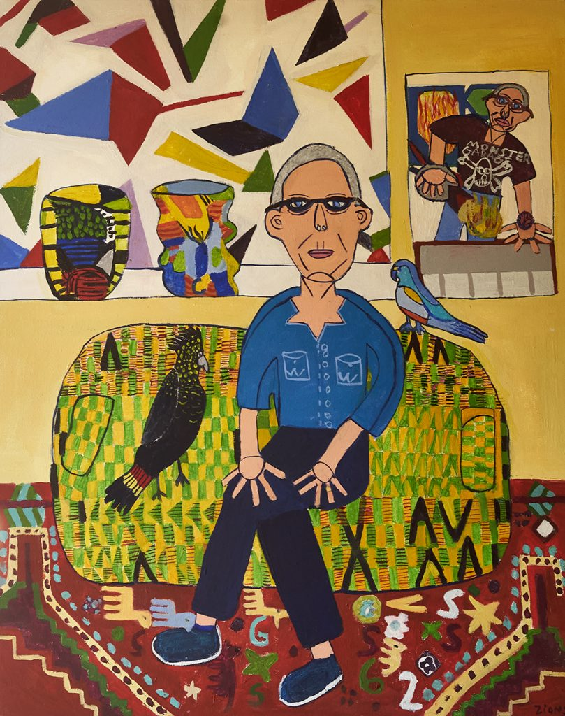 Archibald Prize Entry 2020 Zion Levy Stewart