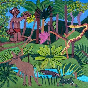 Aussie Bush Zion Levy Stewart Art artist and potter