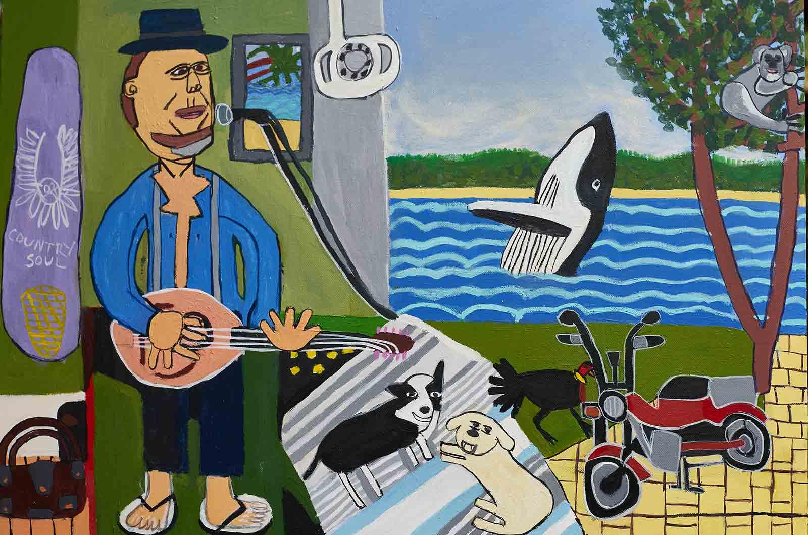 Dentist Zion Levy Stewart Artist Mullumbimby
