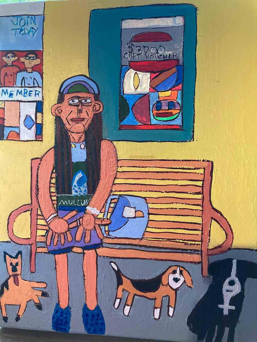 Woodstock Mullumbimby Painting by Zion Levy Stewart